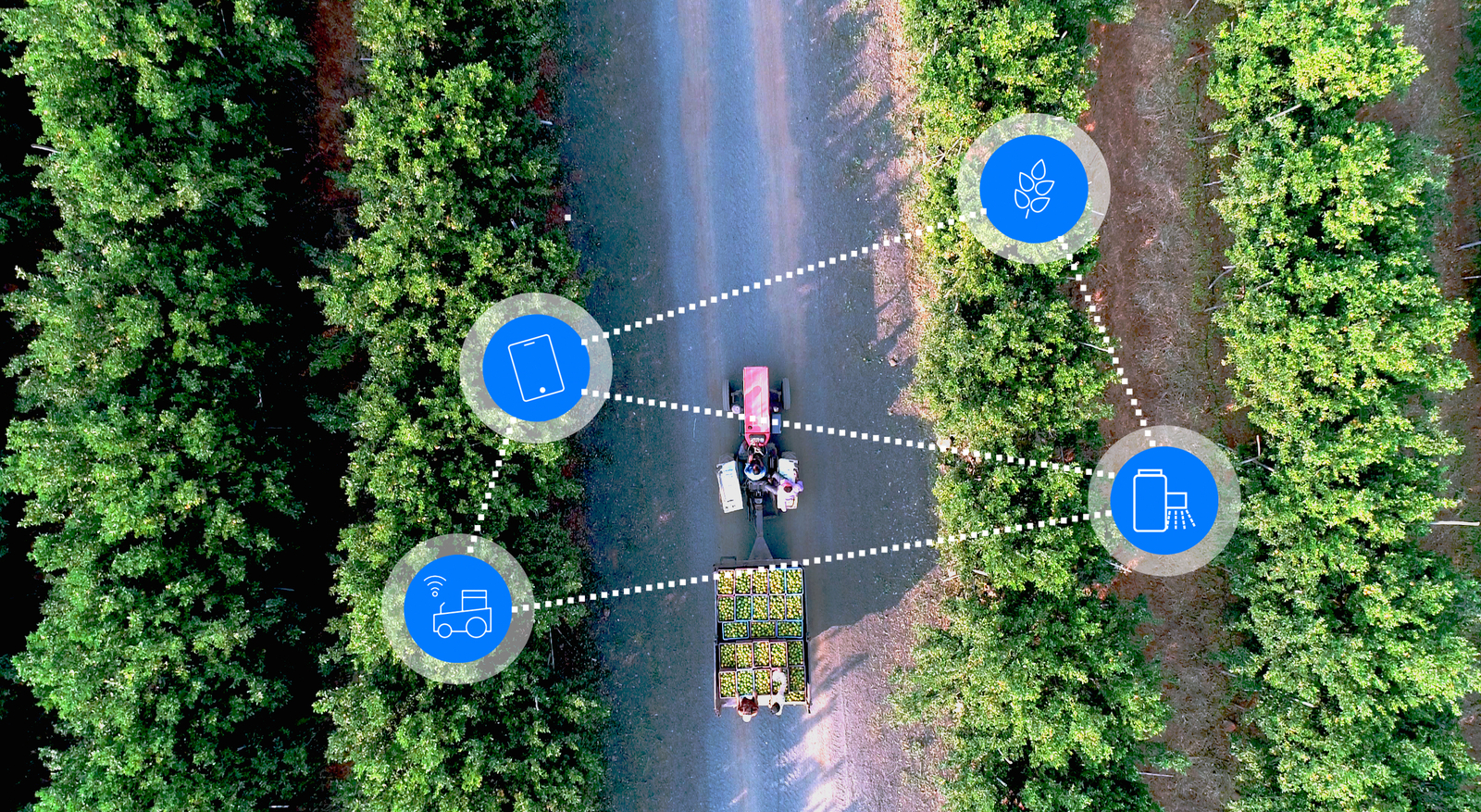 DIGITAL FARMING FOR ORCHARDS